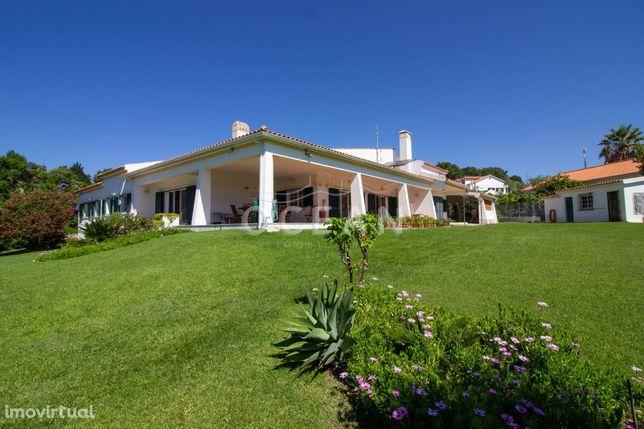Quinta em Palmela com moradia térrea de 7 assoalhadas