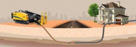 Проколы под дорогами, под коммуникациями, направленное бурение