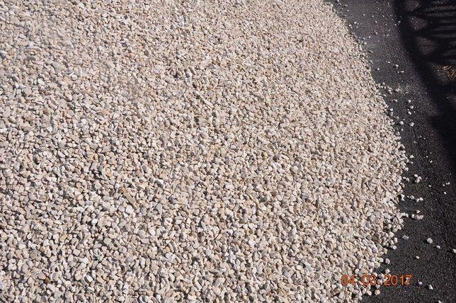 Kamień Ozdobny Biały Grys Marianna