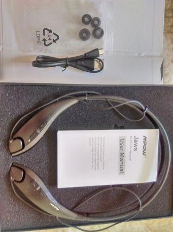 Słuchawki Bluetooth MPOW w pudełku