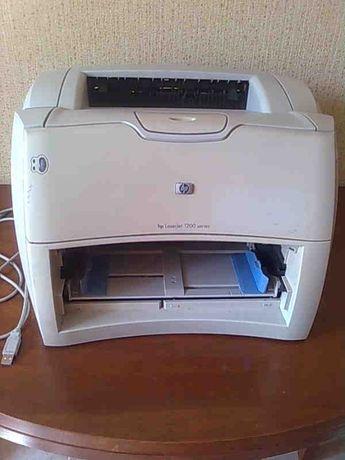 Принтер лазерный HP laserjet 1200