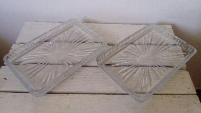 Salaterka półmisek szklany pamiątka PRL