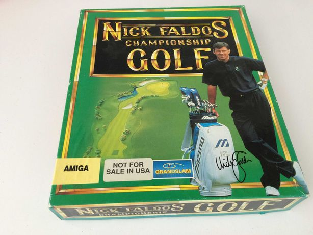 Nick Faldo's Championship Golf Amiga 100% Sprawna