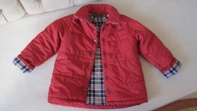 Курточка 3- 4-5 лет / куртка пуховик бордо плащ / Куртка детская.