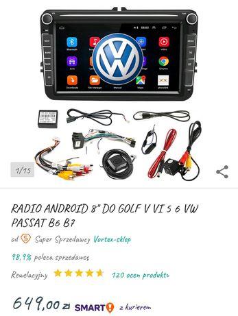 Sprzedam nawigację samochodowa multimedialną do pasat b6 oraz golfa V