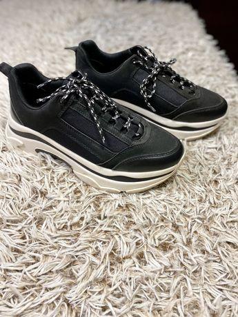 Buty sneakers stradivarius chunky trainers 41