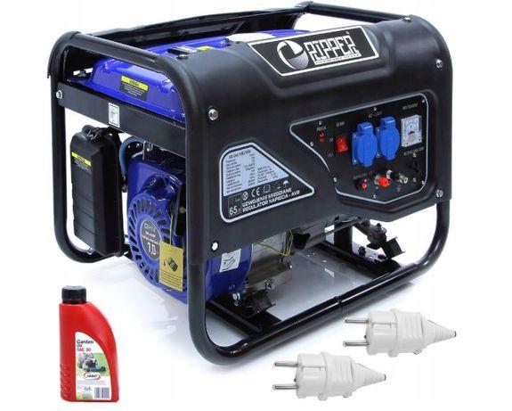 Agregat prądotwórczy prądu 3000w 12v 230v + olej