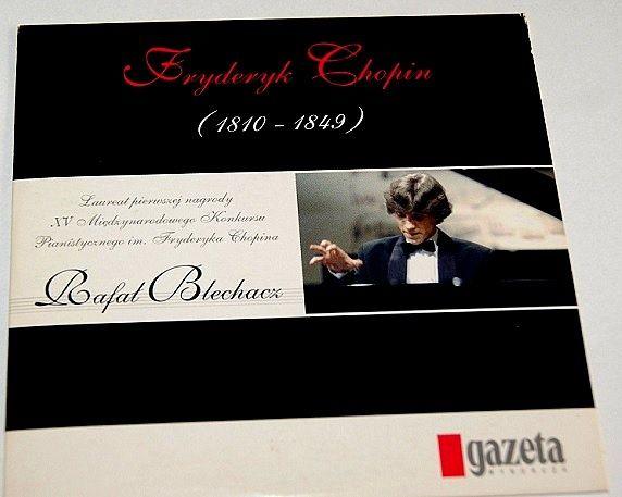 11 utworów Fryderyka Chopina na CD w wykonaniu Rafała Blechacza