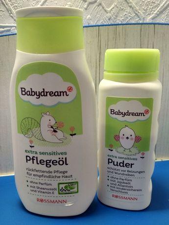 Детская Присыпка + масло babydrem