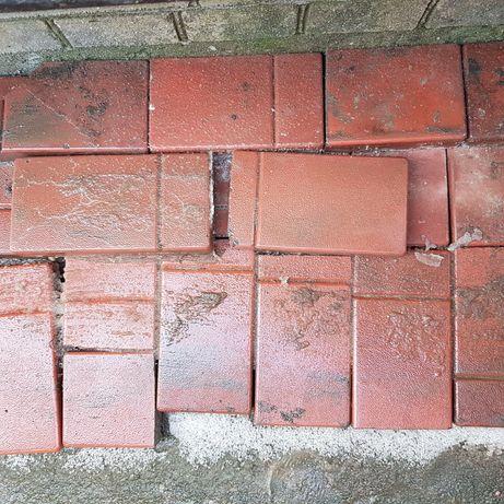 тротуарная плитка резанная, половинки