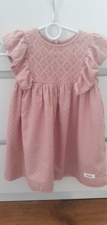 Sukienka dla dziewczynki newbie KappAhl 60-68 cm 12-18 mies.