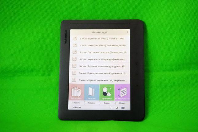 """Электронная книга 8"""" Pocketbook 801 великий екран з підсвіткою"""