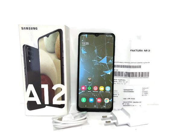 Samsung Galaxy A12  komplet