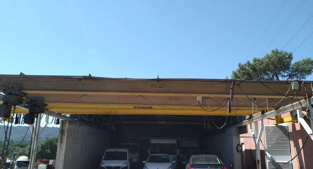 Ponte rolante de 5 toneladas 13,8 metros