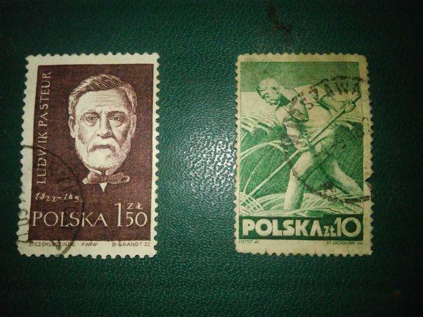 Stare znaczki, Polska