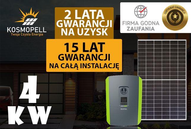 Instalacja fotowoltaiczna 4 kW - 15 Lat Gwarancji - Kosmopell.pl