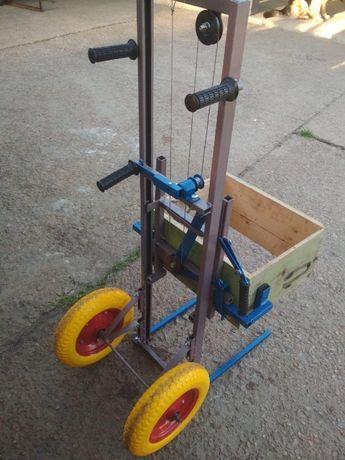 Апилифт от производителя с пенопоулеритановыми колесами