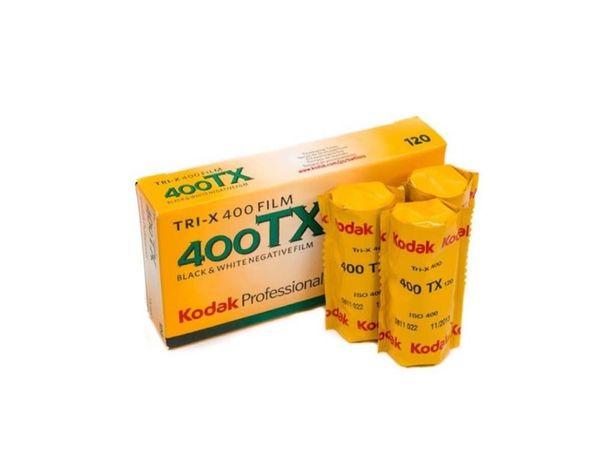 Kodak TRI-X 400 TX 120 фотопленка film B&W черно белая