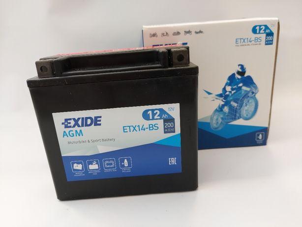 Akumulator EXIDE YTX14-BS 12V 12Ah 200A
