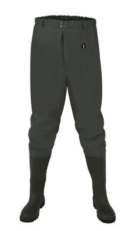 Spodnie Wodery Wędkarskie rozmiary 39-47 Pros polskie tania przesyka