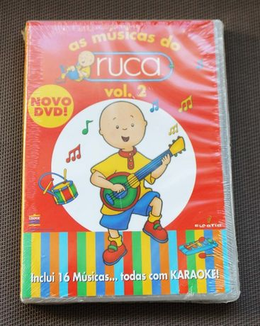 DVD As músicas do Ruca - volume 2 (16 músicas karaoke) NOVO E SELADO