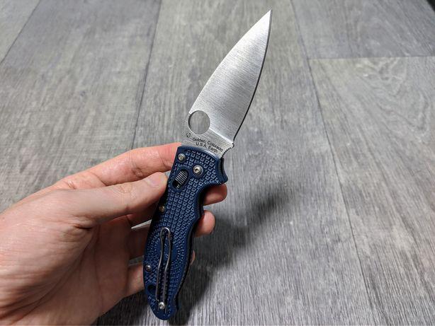 Складной нож Spyderco Manix 2 Lightweight CPM-S110V C101PDBL2 EDC США