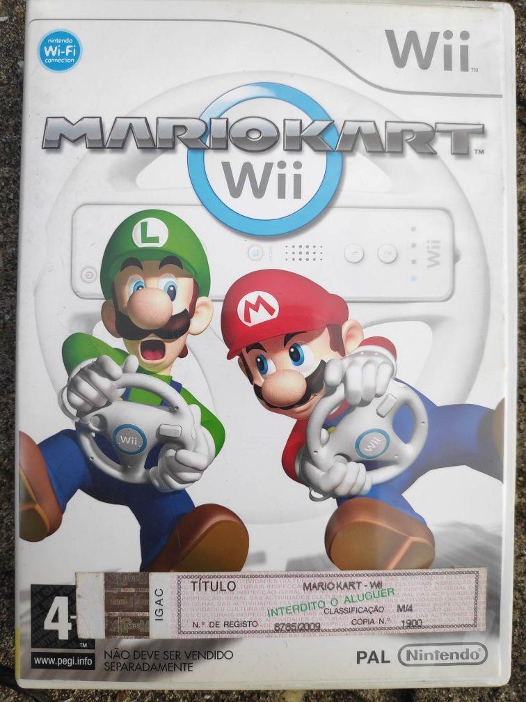 Jogo Nintendo Wii e Wii-U Mário kart opc volante