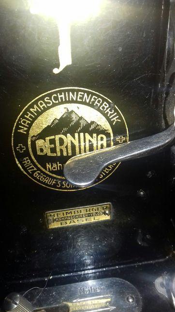 АНТИКВАРИАТ Швейцарська швейная машинка BERNINA