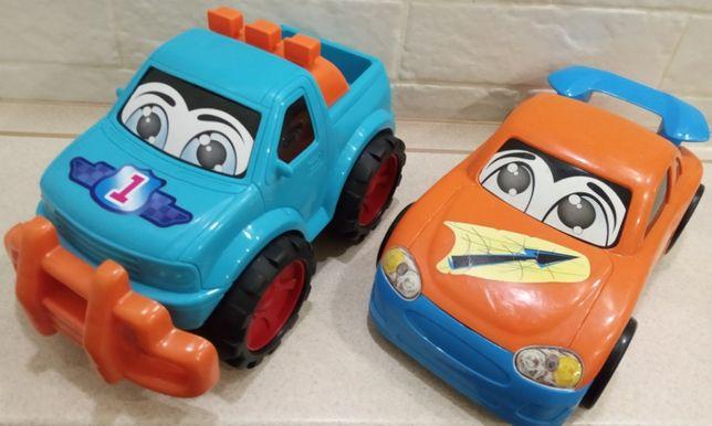 2 крутые большие машинки Mothercare Happy Cars (веселые лица) .