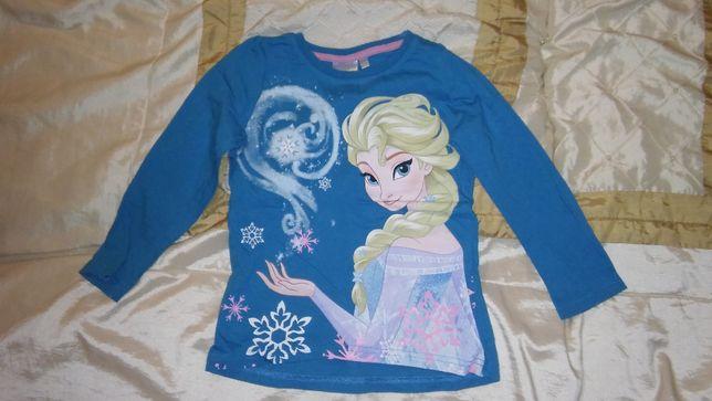 Bluzka Elsa Kraina Lodu Frozen 104 cm 4 lata