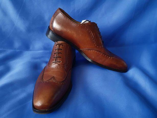 Кожаные мужские туфли ecco