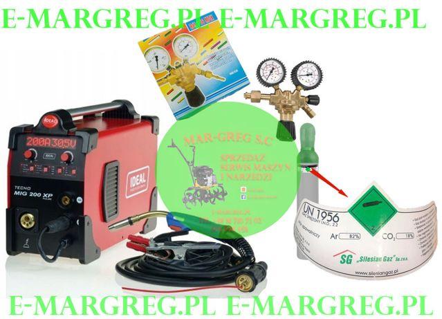 Spawarka Migomat TECNO MIG 200XP PULS+Reduktor+GAZ