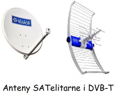 Anteny Satelitarne i DVB-T Ustawianie i Montaż SAT