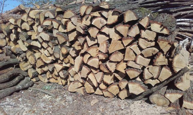 Drewno kominkowe opałowe liściaste iglaste