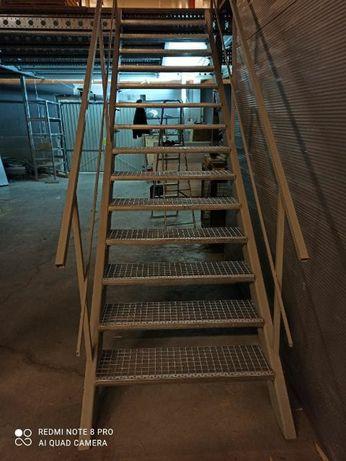 schody metalowe krata wema