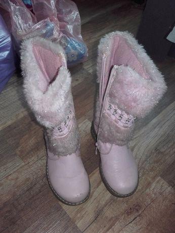 Kozaki, buty, kozaczki rozmiar 25 bardzo ładne