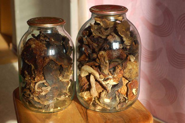 Продам грибы сушеные в печи дровами Лисички Белые грибы Сыроежки Опята