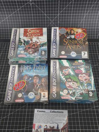 Nintendo Gameboy Advance novos selados. Open season, senhor dos Anéis