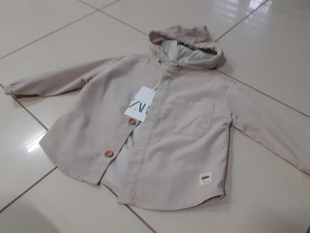 Kurtka bluza koszula wierzchnia Zara 86