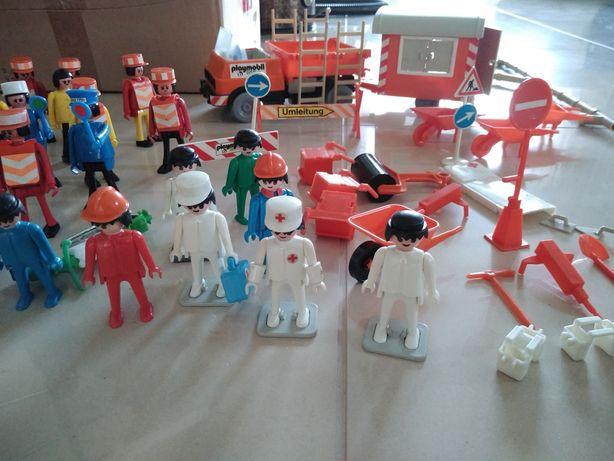 Stare zabawki Figurki samochód Playmobil z lat 70