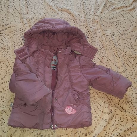 Зимний комбинизон, куртка на год, 80 размер