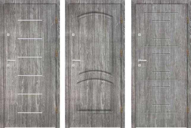 Drzwi zewnętrzne wejściowe z montażem do mieszkania na klatkę LOKALOWE