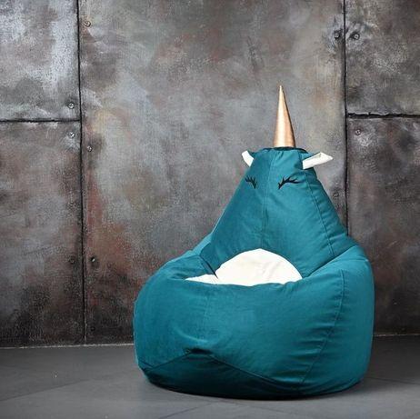 Бескаркасное Кресло-груша Мешок. Пуф Мягкая мебель распродажа