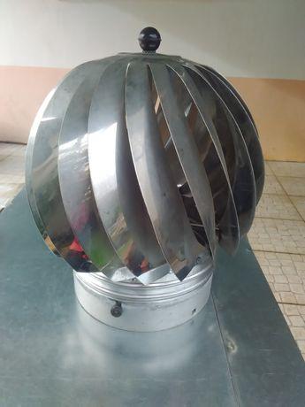 Girândola inox com base em alumínio