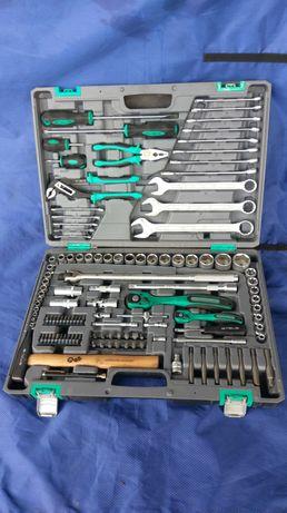 """Набор инструмента Stels, 1/4"""", 1/2"""", Cr-V, S2, кейс, 119 предметов"""