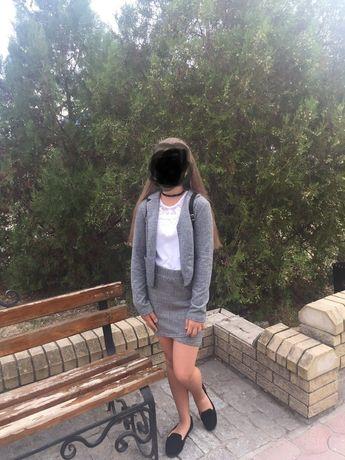 Юбка/ школа на девочку 11-13 лет