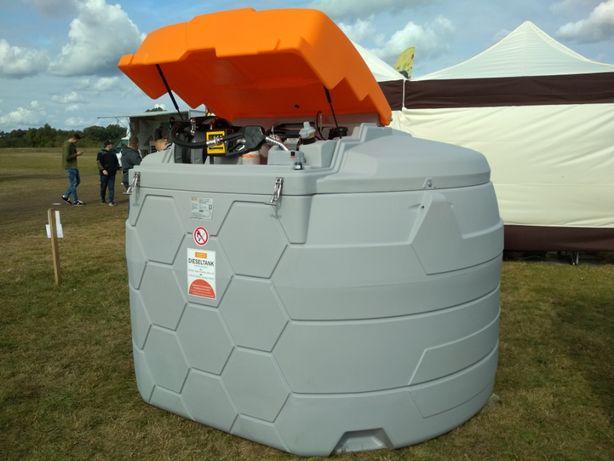 Zbiornik na paliwo 5000 l dwupłaszczowy, jak plaster miodu - CEMO
