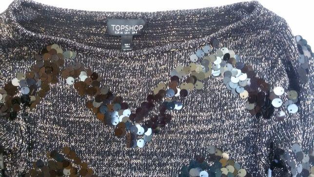 Платье новое, в паетках и люрексом, новое, , р,44-46.
