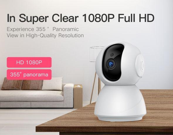 Video Vigilância Camera Segurança Deteção Movimento Rotativa 1080P NEW