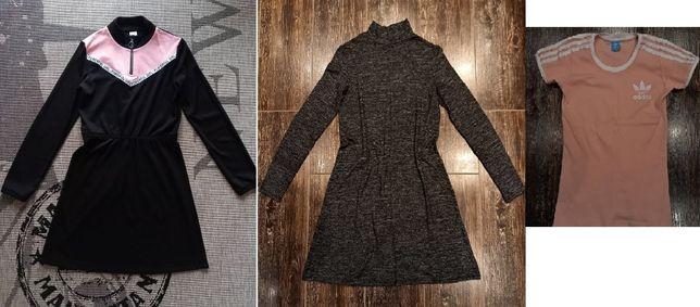 Paka 24 ubrań dziewczyna r.158/164, 4F, Pull&Bear, H&M, Reporter, c&a